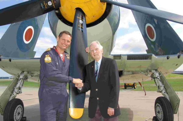 Captain Eric 'Winkle' Brown, the Royal Navy's most decorated and distinguished naval test pilot, called the landing a 'pretty amazing piece of flying'