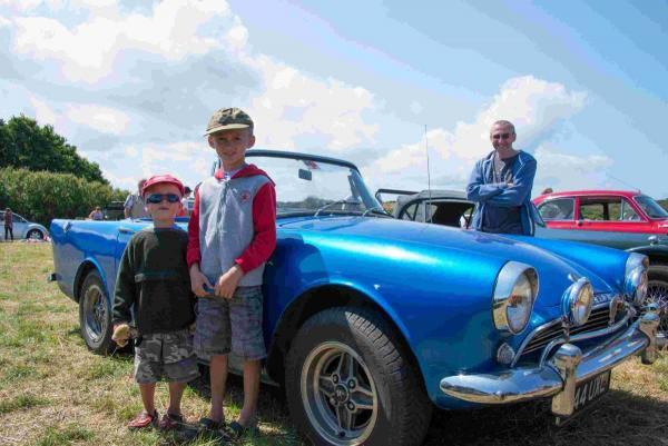 Bad weather curse broken as sun shines on Grade Ruan Vintage Rally: PICTURES