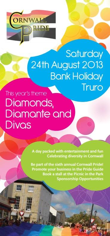 Cornwall Pride set to make colourful return to Truro