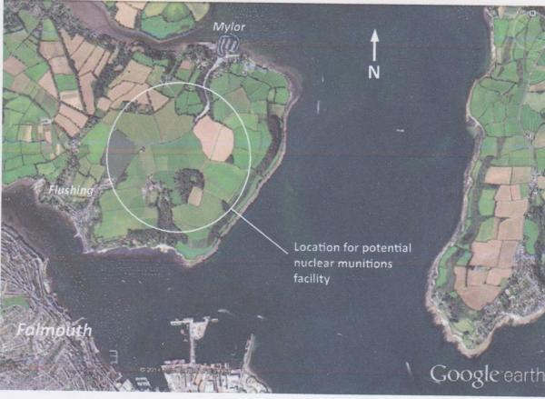 Nuclear warhead facility could be built near Falmouth
