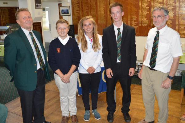 GOLF: Junior players light up Falmouth