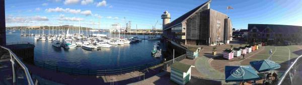 Characters take the plunge at Falmouth's Maritime Museum