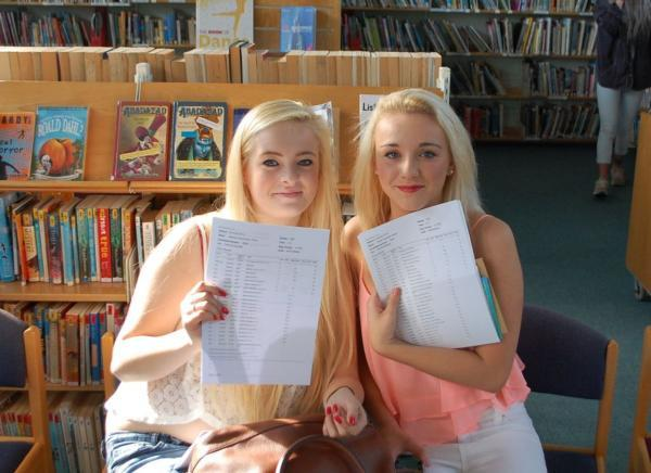 Falmouth School pupils effort rewarded with GCSE results