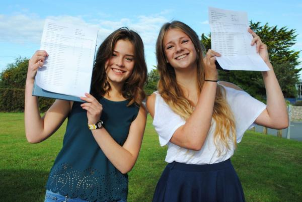 Helston GCSE students celebrate top results