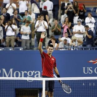 Novak Djokovic was a comfortable winner in the first round (AP)