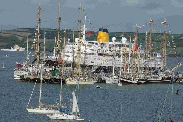 Stay safe during the parade of sail