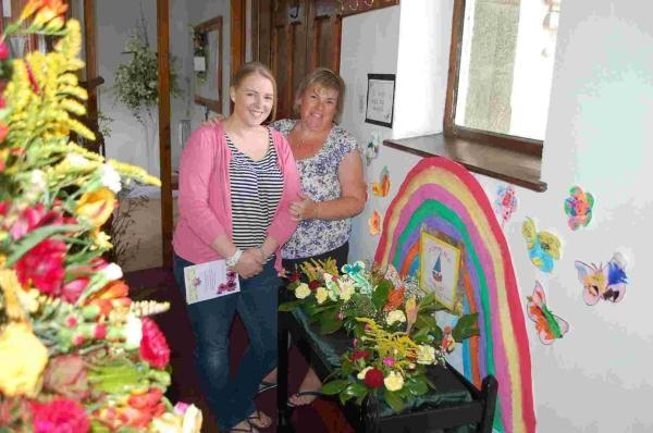 Hymns come to life at flower show