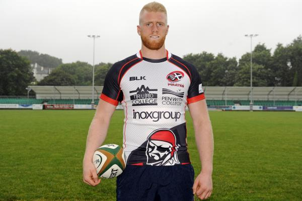 Charlie Davey who has signed for the Cornish Pirates from London Irish Wild Geese. Picture: SIMON BRYANT