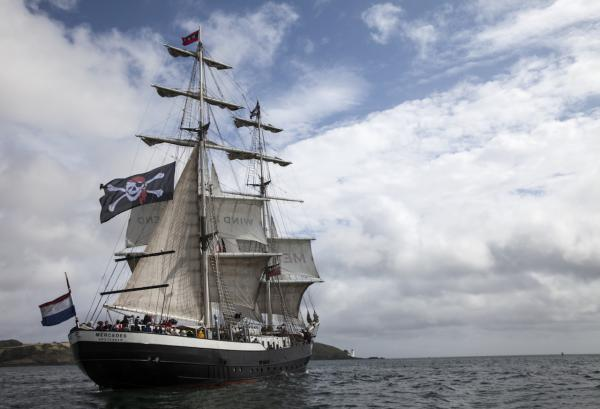 Thousands more visitors expected to flock to Falmouth Tall Ships 2014 today