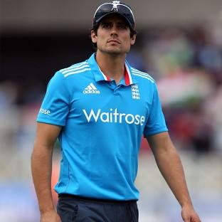 Alastair Cook's England suffered a six-wicket ODI