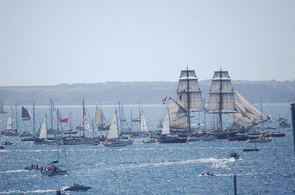 Tens of thousands watch Tall Ships parade of sail: PICTURES