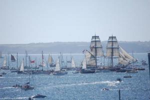 Tens of thousands watch Tall Ships parade of sail: PICTURES + VIDEO