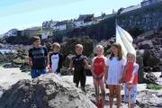 Families hold back the tide at Coverack challenge: PICTURES