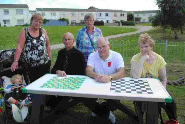 Falmouth widow's heartbreak over vandalised memorial games table