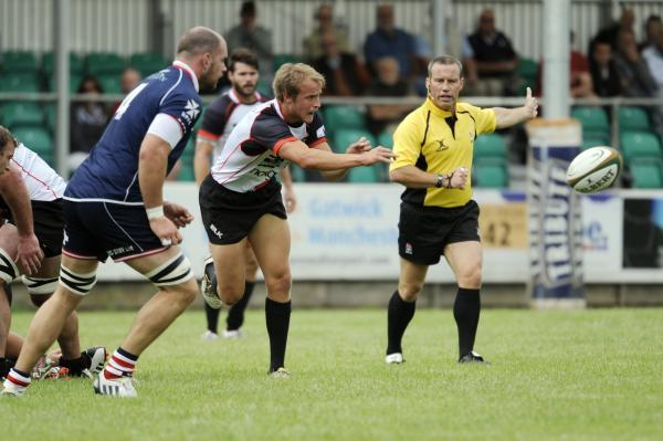 Tom Kessell during a pre-season game with Rosslyn Park. Picture: SIMON BRYANT/ITKIS PHOTO