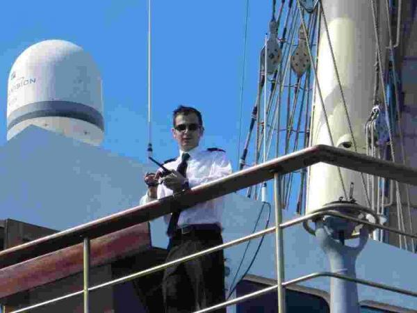 Falmouth pilot fulfils his childh
