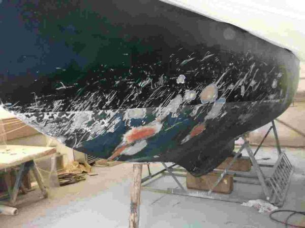 'Pummelled' yacht good as new after Falmouth boatyard fix