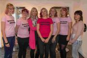 Organiser 'gobsmacked' as Helston pink day raises £2,000