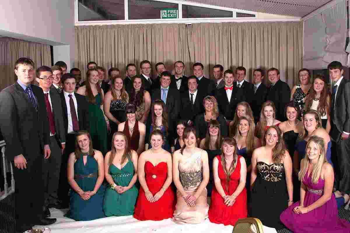 Helston young farmers swap fields for fancy frocks and suits at annual dinner dance: PICTURES