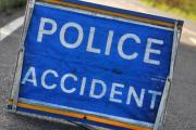 Penryn crash left cables over road and one injured