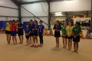 GYMNASTICS: Pupils from Helston and the Lizard show off their gymnastic skills