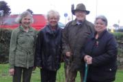 Friends of Helston Hospital plant trees to mark WWI outbreak and hospital anniversary