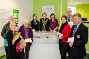 Building society gives cash boost to charities in St Ives