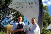 Two AA rosettes for restaurant at Falmouth's St Michael's Hotel