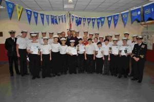 Sea cadets rewarded for successful year