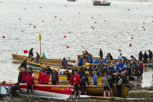 Hundreds of rowers took part in the championships over the Bank Holiday weekend