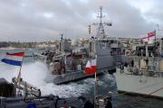 NATO vessels pay courtesy visit to Falmouth