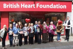 Redruth's British Heart Foundation shop celebrates 20 years of fundraising