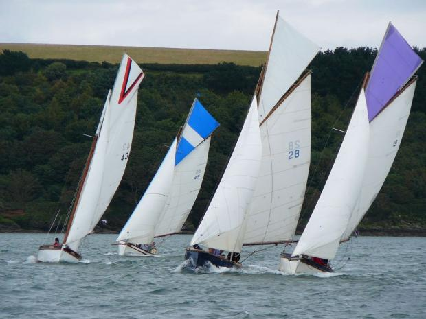 SAILING: Gaffers meet in Cornwall