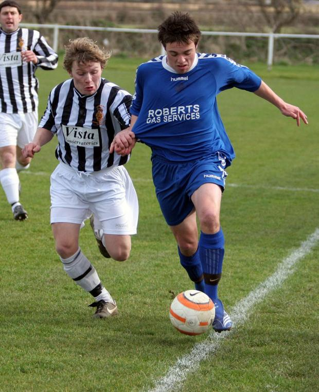 Striker Liam Eddy scored Helston's winner in the Cornwall Senior Cup on Saturday