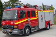 Firefighters rescue Hayle child with crash rescue equipment