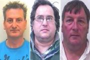 Jailed: Julian Benstead; Stephen Matthews and Roderick Smith