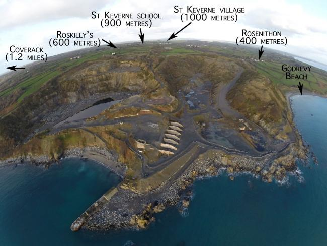St Keverne campaigners take 'Dean superquarry' fight to court