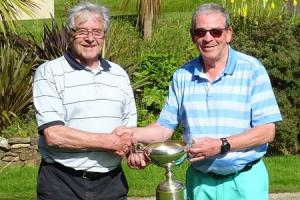 GOLF: Hat-trick of Memorial Cups secured by Martin at Budock Vean