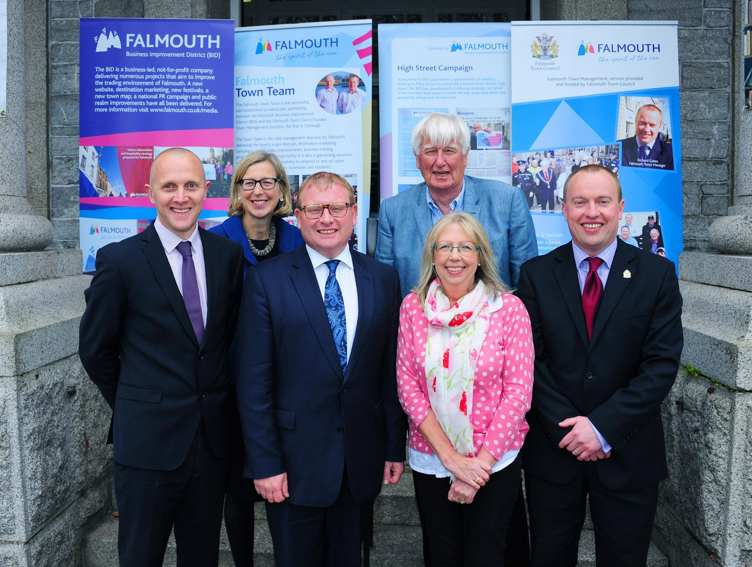 Minister for High Streets visits Falmouth, but doesn't visit High Street