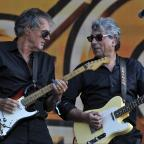 Falmouth Packet: 10CC perform on the last day of Barclaycard British Summer Time Festival in Hyde Park,London on 13th July 2014. (55192644)