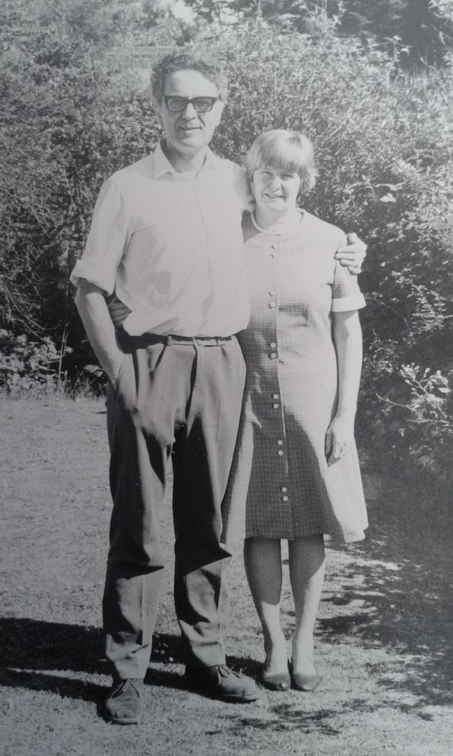 Donald and Betty Anne Tribe