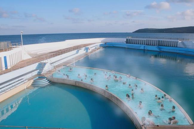 Jubilee Pool in Penzance wins national award thanks to public vote
