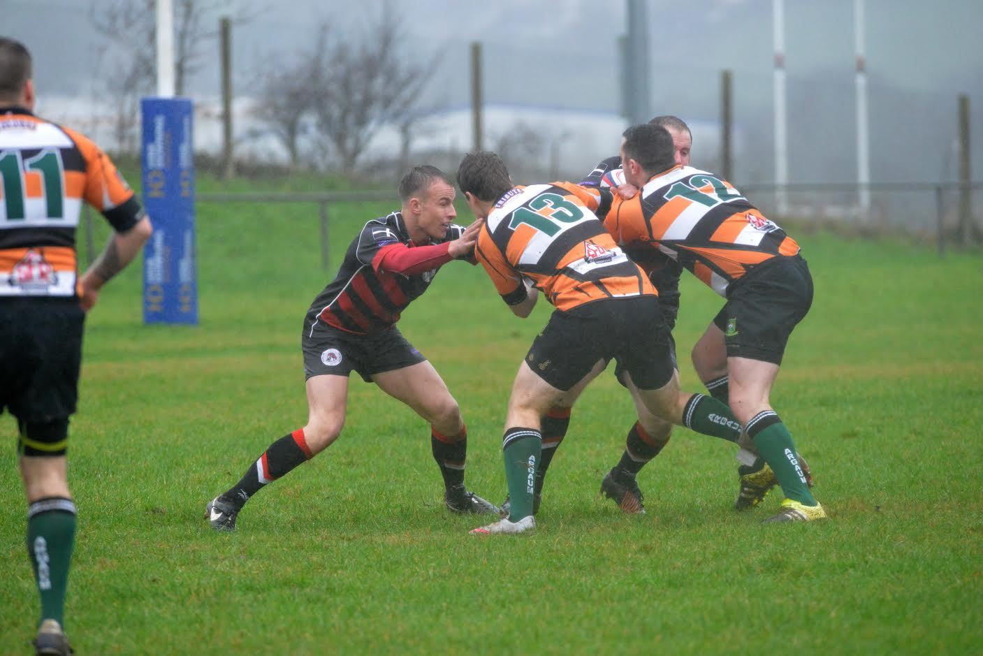 Mitchell Vague, who scored a try and landed seven conversions for Penryn against Torrington on Saturday