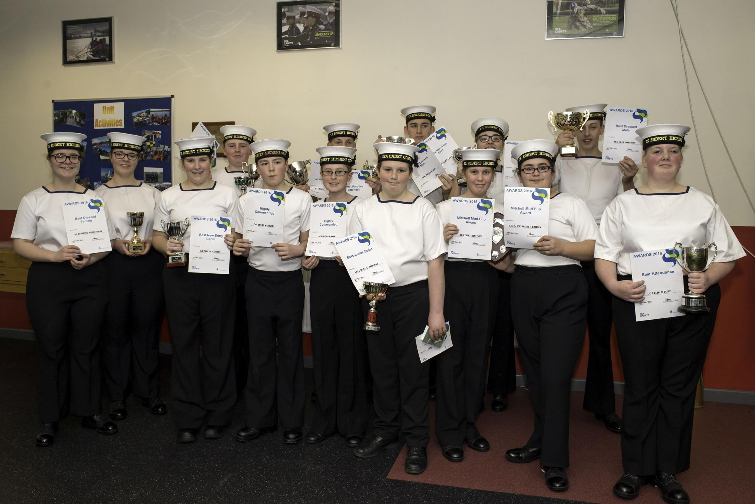 Falmouth and Penryn Sea Cadets honoured at annual