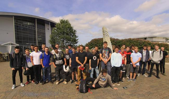 Engineering apprentices who started in September 2016