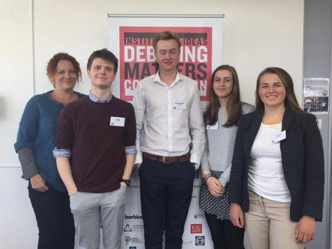 Truro School teenagers win place in final of UK schools debating competition