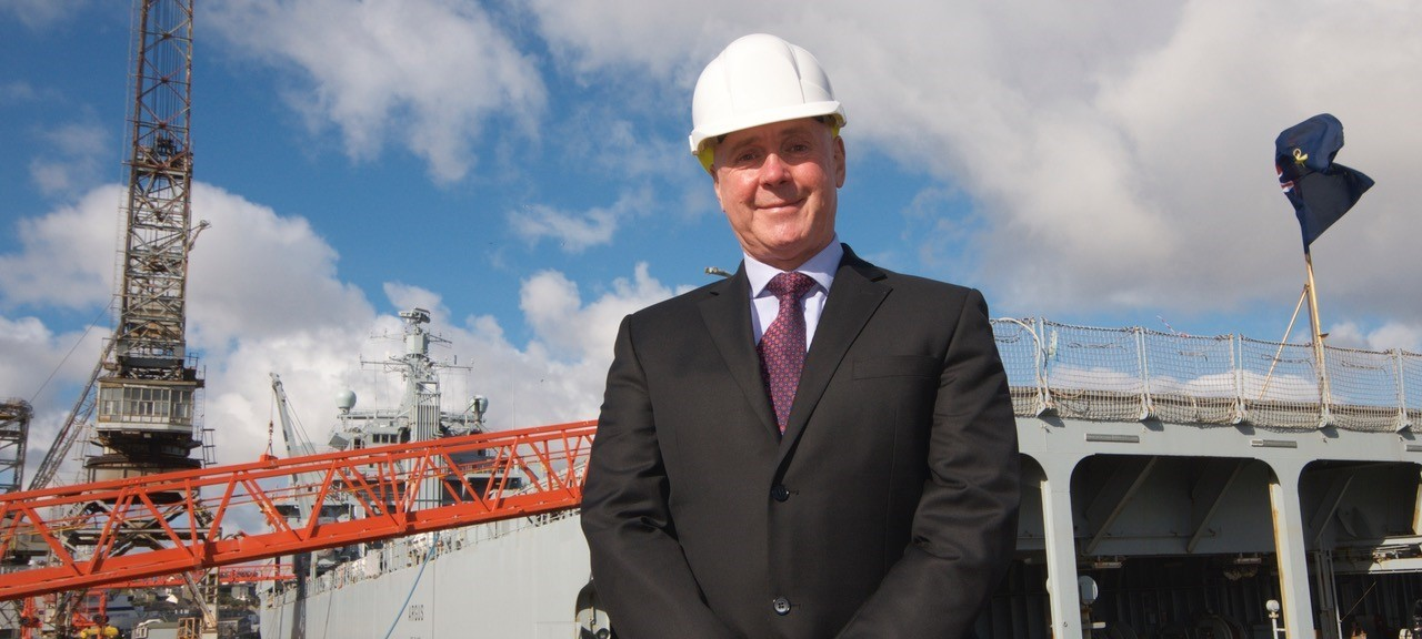 Gerald Pitts, Managing director A&P Falmouth
