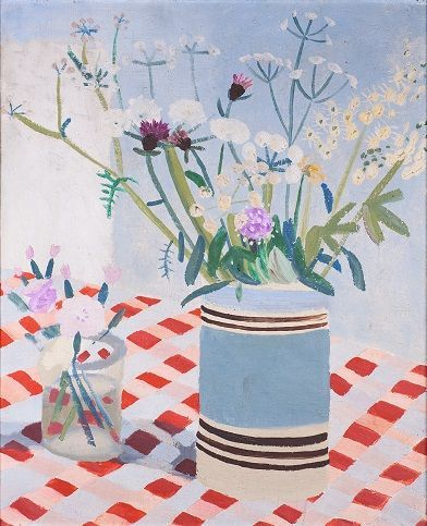 Winifred Nicholson's Tablecloth