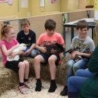 Falmouth Packet: Children enjoy animal handling at Duchy College open day