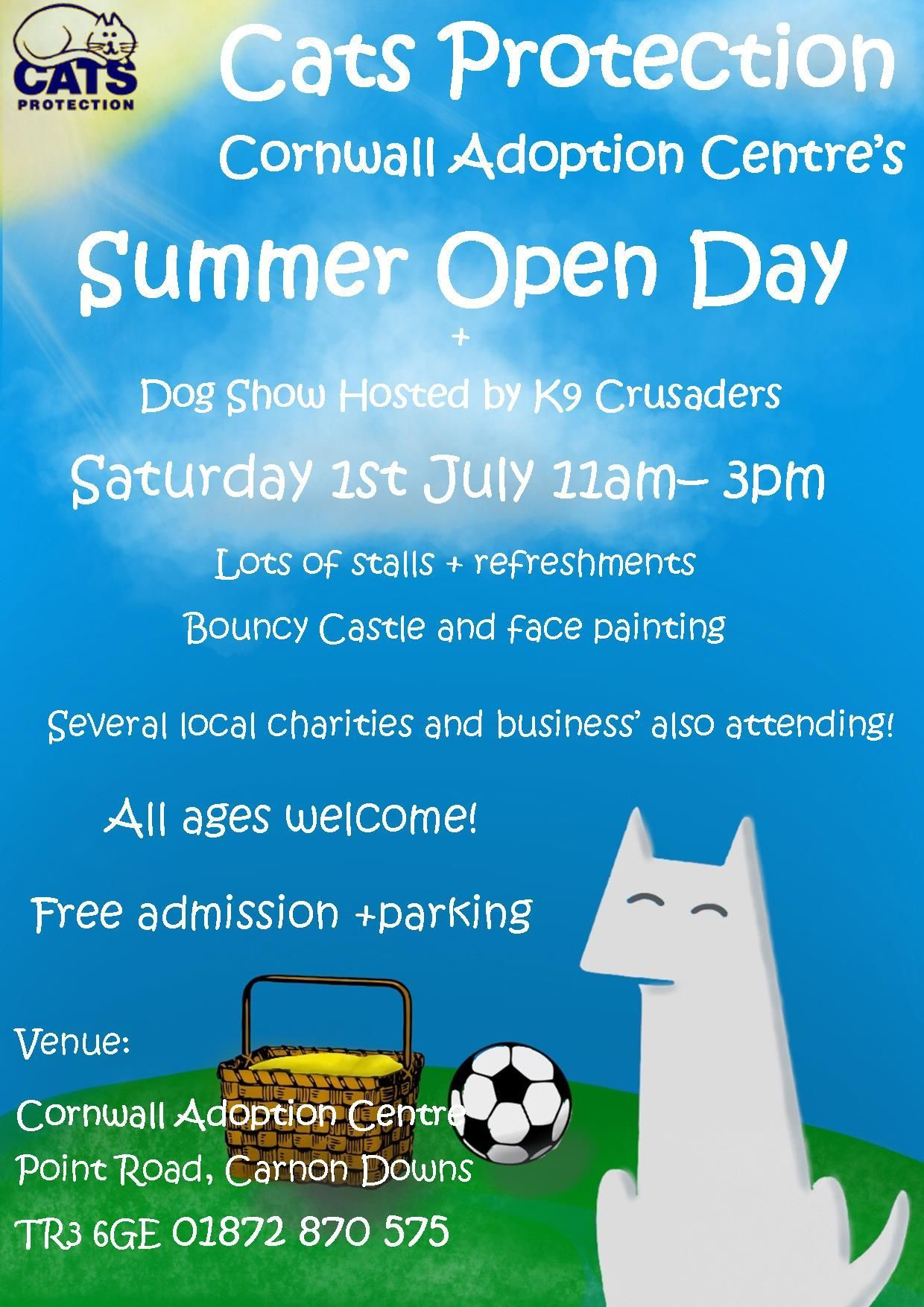 Cats Protection summer fair
